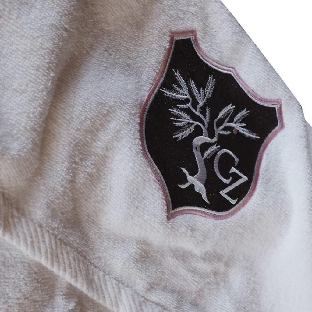 ręcznik bawełniany z logo