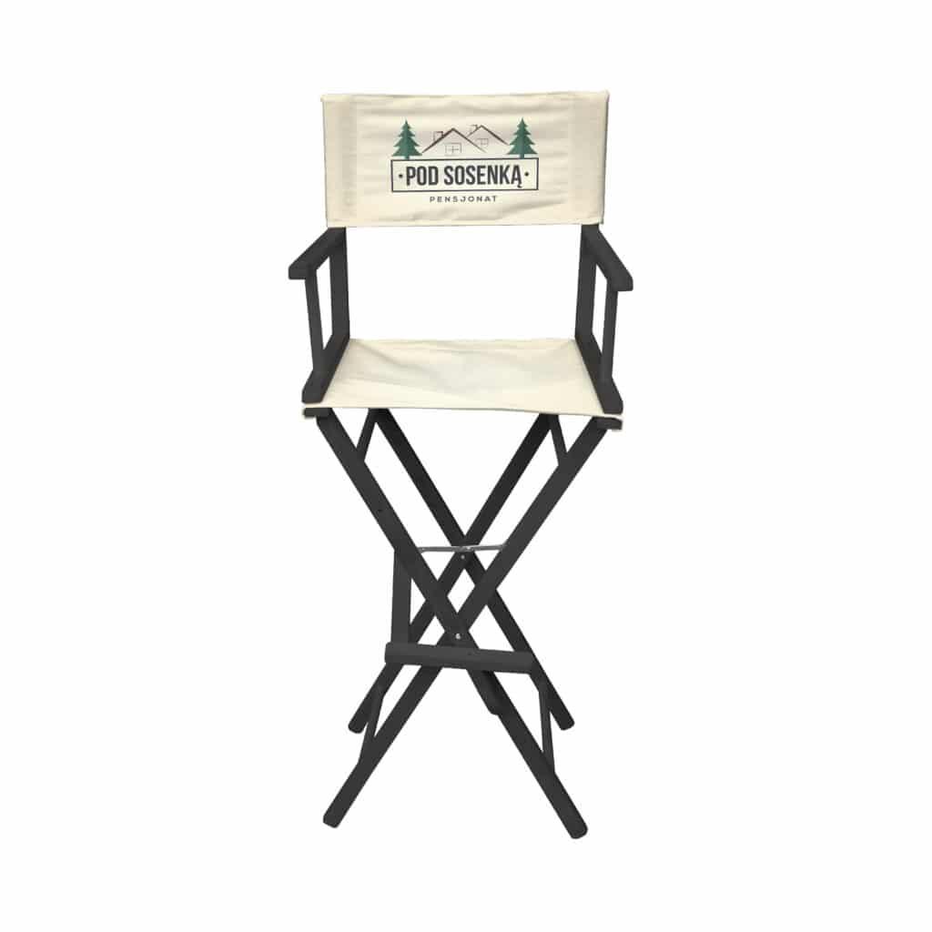krzesło Reżyserskie wysokie
