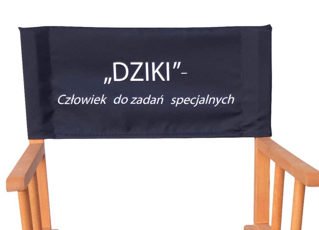 krzesło sitodruk