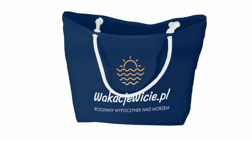 torba plażowa z logo